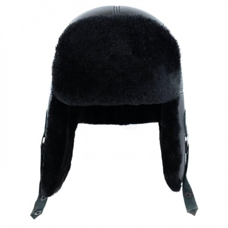 Tokalı Pilot Deri Şapka - Ş052