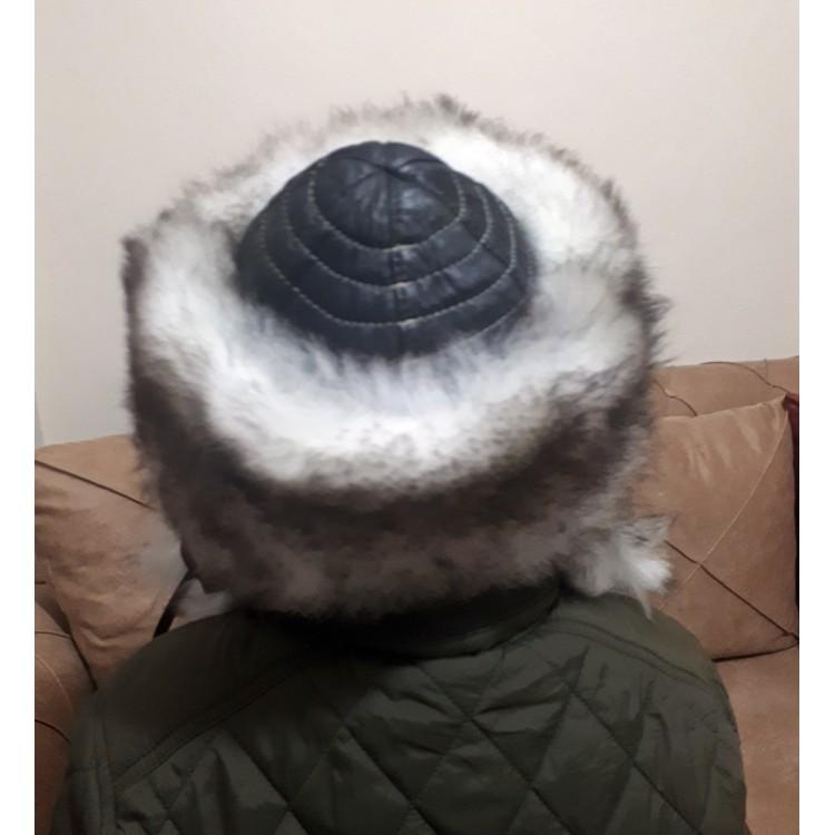 Türk Balası Deri Börk Modelimiz (Çocuk Deri Şapka) - Ş111