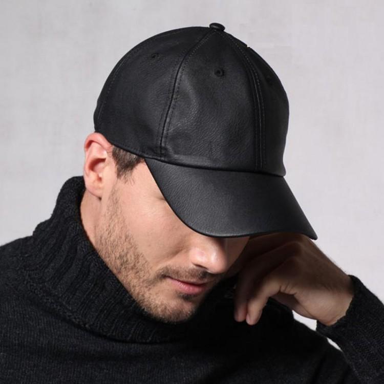 Beyzbol Deri Şapka - Ş068