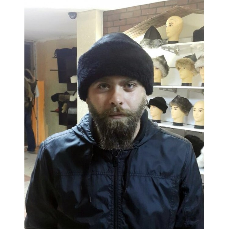 Sponto Tüylü Deri Şapka, Kürklü Hakiki Deri Şapka - Ş071